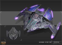 ArtStation - Jem'Hadar attack ship, Hector Ortiz