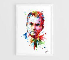 Jupp Heynckes Bayern Munich  A3 Art Prints of the by NazarArt, $20.00