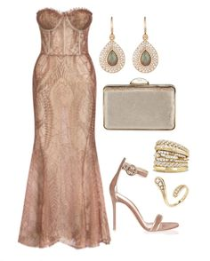 👗Lana Mueller Bustier dress 👠Gianvito Rossi Dark Nude and Gold Suede Sandals 👛Judith Lieber Couture Bustier Dress, Dress Up, Style Personnel, Look Formal, Suede Sandals, Teardrop Earrings, Classy Outfits, Fashion Outfits, Womens Fashion