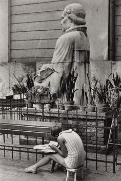 Andre Kertesz, Budapest, June, 1971