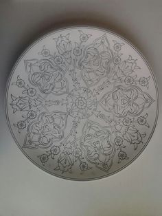 Advantages of Using Pottery for Interior Design Turkish Art, Turkish Tiles, Glazes For Pottery, Ceramic Pottery, Norwegian Rosemaling, Leather Tooling Patterns, Arabesque, Persian Motifs, Islamic Patterns