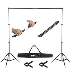 Emart 10ft Adjustable Background Support Backdrop Stand K... https://www.amazon.com/dp/B00MTF6ZVC/ref=cm_sw_r_pi_dp_iLsAxbFB7DRT9