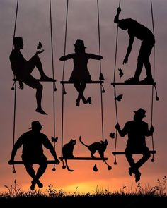 photo by Dominic Liam. Silhouette Photography, Art Photography, Silhouette Fotografie, Cool Pictures, Beautiful Pictures, Lovers Images, Friendship Pictures, Shadow Silhouette, Camera Art