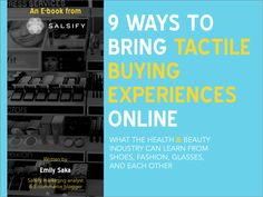 Salsify E-book on bringing tactile buying experiences online