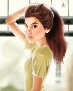 Morning sunday.. #illustration #digitalpainting #art #potrait #featuremecyarine