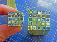 Polymer Clay Animals, Polymer Clay Canes, Polymer Clay Miniatures, Fimo Clay, Polymer Clay Projects, Polymer Clay Creations, Polymer Clay Jewelry, Clay Crafts, Plastic Fou