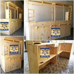 Now you can see an idea for creating a bar which is perfect if a person needs it for the serving purpose to the customers, it is huge; so it is not good to make it for home use. But for a huge home, a person can copy this idea.