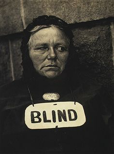 Blind, 1916 Paul Strand (American, Platinum print 13 x 10 in. x cm) Alfred Stieglitz Collection, 1933 © Aperture Foundation Inc. History Of Photography, Modern Photography, Documentary Photography, Street Photography, Portrait Photography, Social Photography, Photography Sketchbook, Photography Composition, Abstract Photography