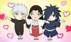 Chibi Tobirama, Hashirama, and Madara! So cute!