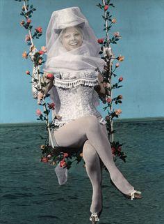"""Sandra Milo in""""Giulietta degli spiriti"""" (1965). Director: Federico Fellini #lingerie #film"""