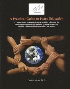 a practical guide to peace education..want to do this picture with hands.