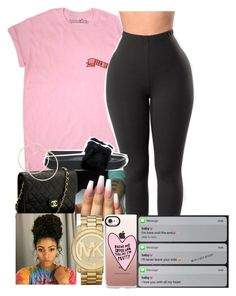 """""""Untitled #20"""" by woahits-lex on Polyvore featuring Puma, Chanel, Michael Kors and Casetify"""