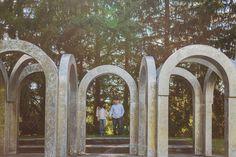 Toledo Botanical Gardens Wedding Engagement Shoot  by Mary Wyar Photography marywyar.com