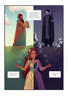 hades and persephone | Tumblr