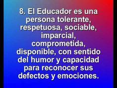 Video Decalogo del Educador. Animacion servicios educativos - YouTube