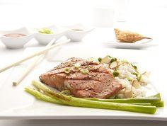 Sesame-Ginger Grilled Salmon. #food #recipe