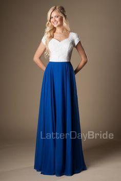 Jade- modest Prom- $490- Found at Gateway Bridal in Salt Lake!