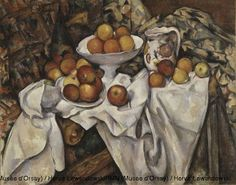 Paul Cézanne (1839-1906), Apples and Oranges, Circa 1899