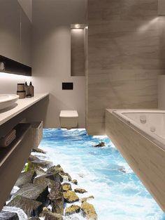 3D Rock Sea Floor Sticker - multicolorCOLOR 50*70CM