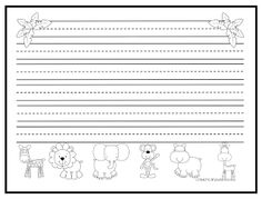 Free Zoo Writing Paper - March, April and May Classroom Ideas - Kindergarten Writing Prompts, Science Writing, Kindergarten Language Arts, 1st Grade Writing, Teaching Writing, Writing Activities, Grammar Activities, Writing Ideas, Teaching Ideas