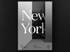 How to Move to NYC - eBook Cover by Tobias van Schneider  #Design Popular #Dribbble #shots