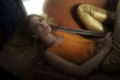 Nan Goldin Shoots Erin Wasson For Scanlan And Theodore's Spring Lookbook #refinery29