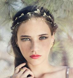 Grecian-Inspired Bridal Crown - Wedding Hair Inspiration for Brides Who Hate Veils - Photos