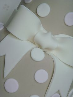 Beautiful icing bow