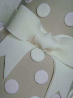 Beautiful icing bow