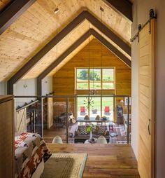 Une grange moderne dans le Vermont