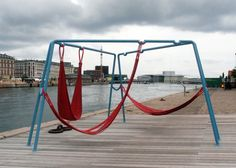 off ground - playful seating elements for public spaces // jair straschnow gitte nygaard // DAC //