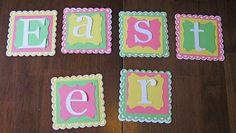 Idea Closet: Silhouette Cameo Easter Banner Tutorial