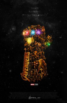 """""""Avengers: Infinity War"""" Fan Poster Assembles the Marvel Heroes in the Infinity Gauntlet Ms Marvel, Captain Marvel, Marvel Dc Comics, Marvel Heroes, Poster Marvel, Mundo Marvel, Captain America, Marvel Infinity, Avengers Infinity War"""