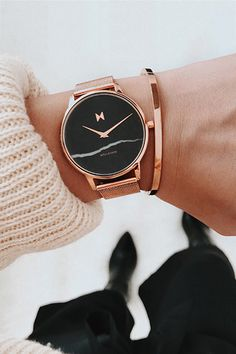 Shop from MVMT's collection of women's best sellers. Our most popular watches combine the latest in trends with superb craftsmanship and functionality. Mvmt Watches, Big Watches, Fossil Watches, Stylish Watches, Cool Watches, Watches For Men, Gold Watches Women, Rose Gold Watches, Most Popular Watches
