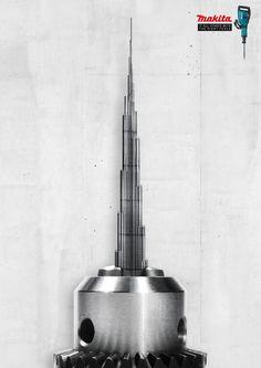 Makita: Burj Khalifa Dubai