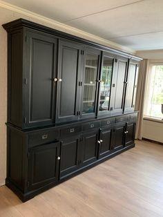 Industrial Furniture, China Cabinet, Storage, Kitchen, Design, Home Decor, Wood Furniture, Dinner Room, Bricolage