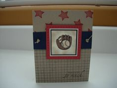 Baseball Coach Cards by stampinat6213 - Cards and Paper Crafts at Splitcoaststampers