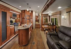 2015 Forest River Wildcat 333MK Kitchen