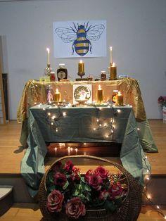 Altars:  Bee #Altar.