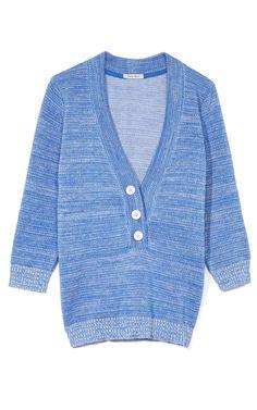 Shop Peter Som Pique Knitwear Sweater at Moda Operandi
