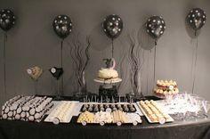 Black & White theme party