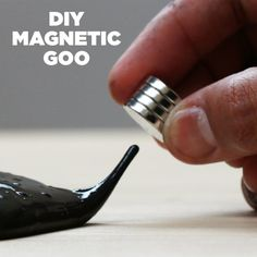 This DIY Magnetic Goo Will Blow Your Mind