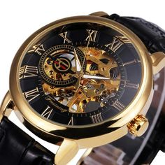 Mens Luxury Skeleton Dress watch - The Splendid Watch Company