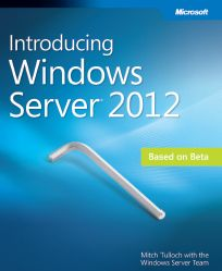 FREE eBOOK for IT Pros: Introducing Microsoft Windows Server 2012