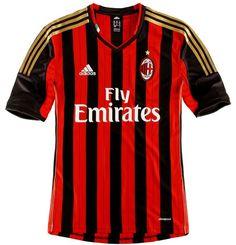 AC Milan Home Kit 13/14 Adidas