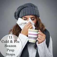11 Ways to Prepare for Cold and Flu Season