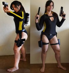 HOW TO MAKE THE TOMB RAIDER UNDERWORLD WETSUIT BELT - laracroftcosplay.com Cosplay pics, help and more!