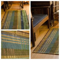 February's weavers group met at knitter/seamstress/designer; Anna's home in Viroqua. I found it challenging making it past the porch that . Weaving Patterns, Linen Pillows, Woven Rug, Fiber Art, Loom, Hand Weaving, Tapestry, Table Linens, Rugs