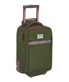Take a look at this Rifle Green Wheelie Flyer Bag today!
