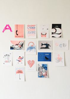 The Song Project. Limited edition postcards inspired Songs. All funds raised go to Niamh's Fund.